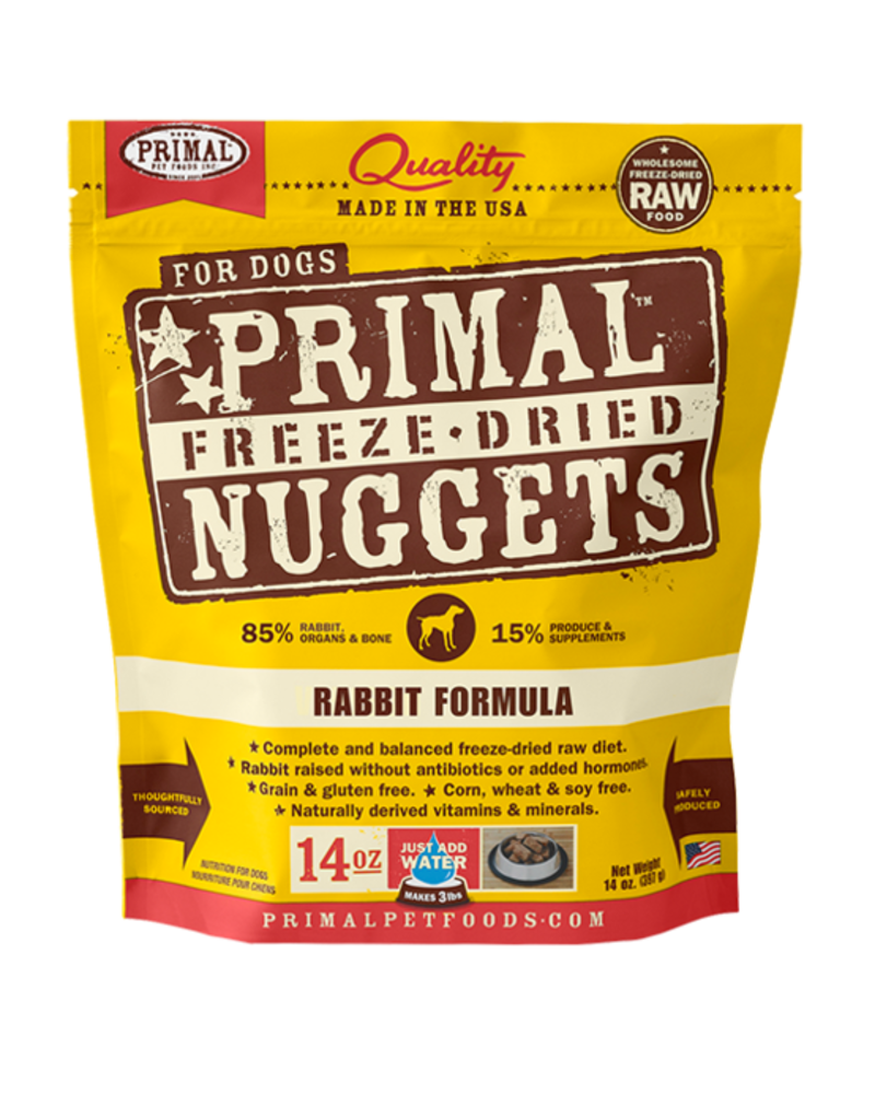 Primal Freeze-Dried Formula Rabbit for dogs