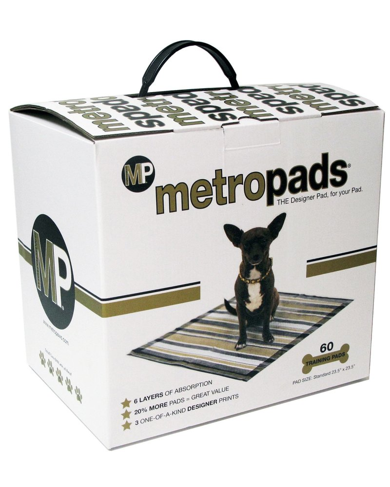 Metro Paws Metro Potty Pads - 60 count