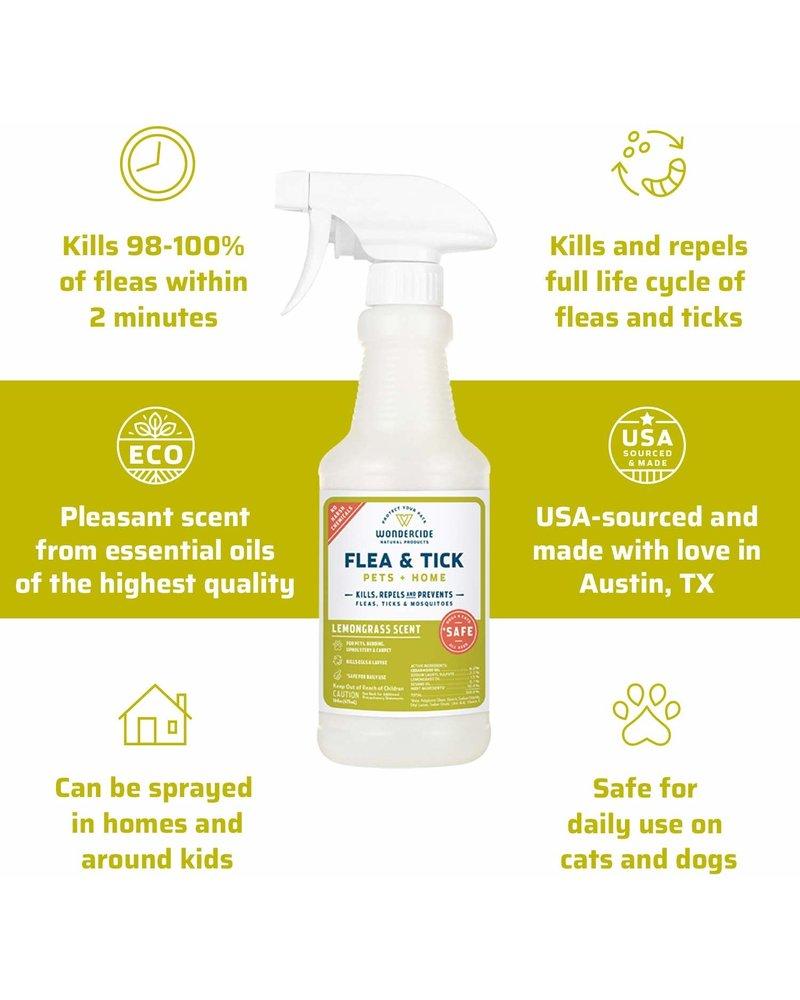 Wondercide Flea & Tick Spray for Pets + Home - Lemongrass