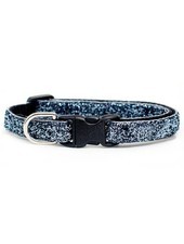 Sweet Pickles Designs Grey Glitter Cat Collar