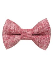 Sweet Pickles Designs Bow-Tie, Team Leader (Red Chambray)