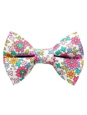 "Sweet Pickles Designs Bow-Tie, ""The Kitty Soiree"" Flower"
