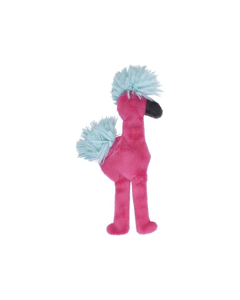 West Paw Flamingo Stuffless Toy, Pink