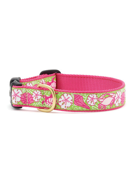 Up Country Dog Collar Pink Sealife
