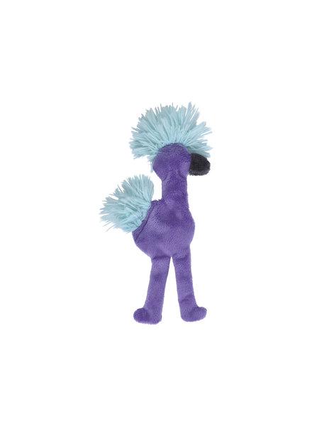 West Paw Flamingo Stuffless Toy, Purple