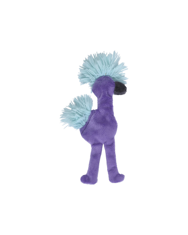 West Paw Flamingo Stuffless Toy, Purple