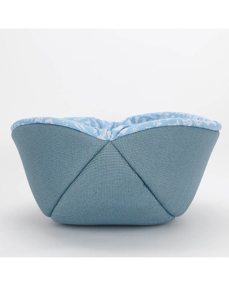 The Cat Ball Canoe Bed, Blue Sweater