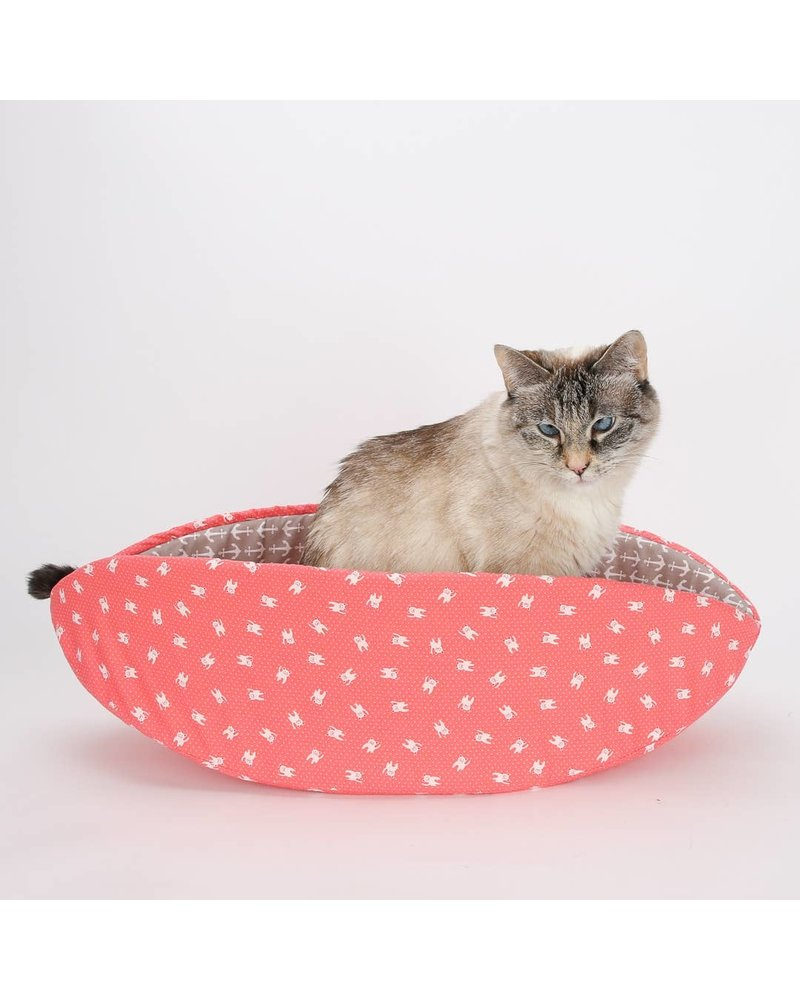 The Cat Ball Canoe Bed Coral Anchors