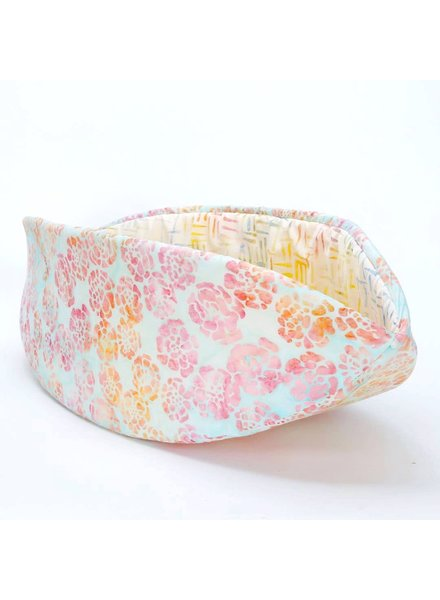 The Cat Ball Canoe Bed Rainbow Pastel Batik