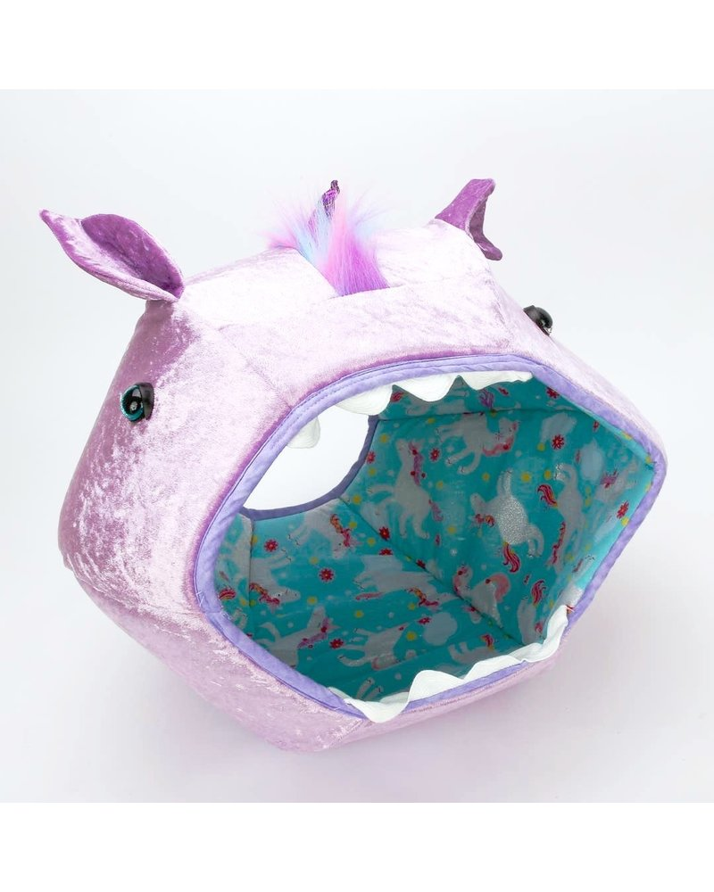 The Cat Ball Ball Bed, Purple Unicorn