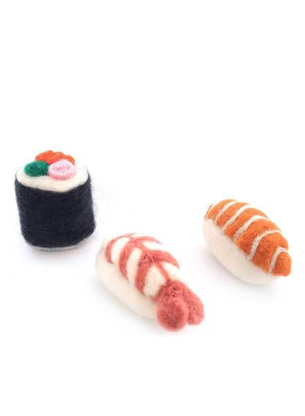 The Foggy Dog Sushi Catnip Toy