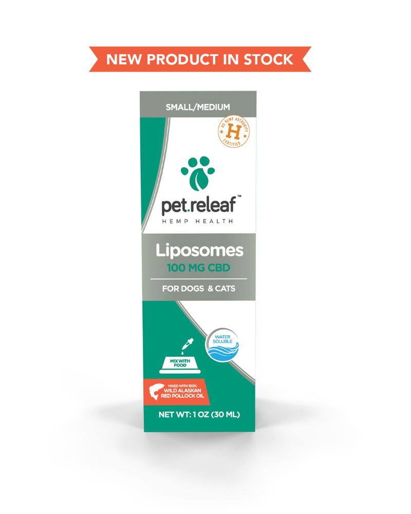 Pet Releaf Liposomes 100 - Pollock Oil