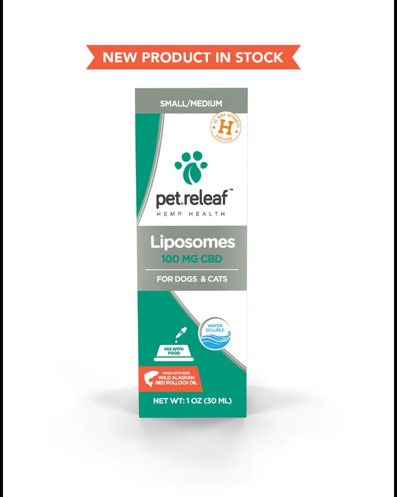 Pet Releaf NEW Liposomes 100 - Pollock Oil