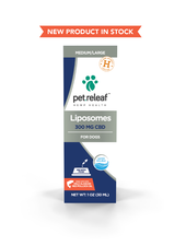 Pet Releaf Liposomes 300 - Pollock Oil