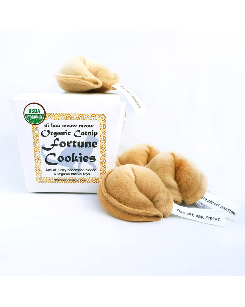 Miso Handmade Fortune Cookies, Box of 4