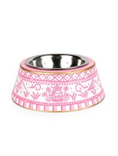 Jaye's Studio Pagoda Pet Bowl, Pink