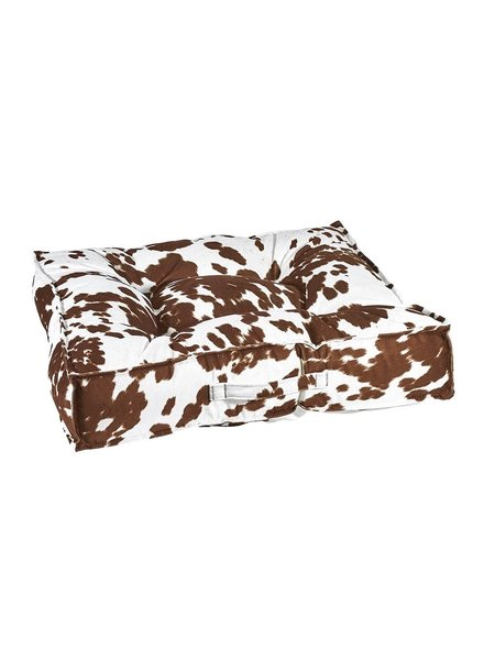 Bowsers Piazza Bed, Durango (Cow Print)