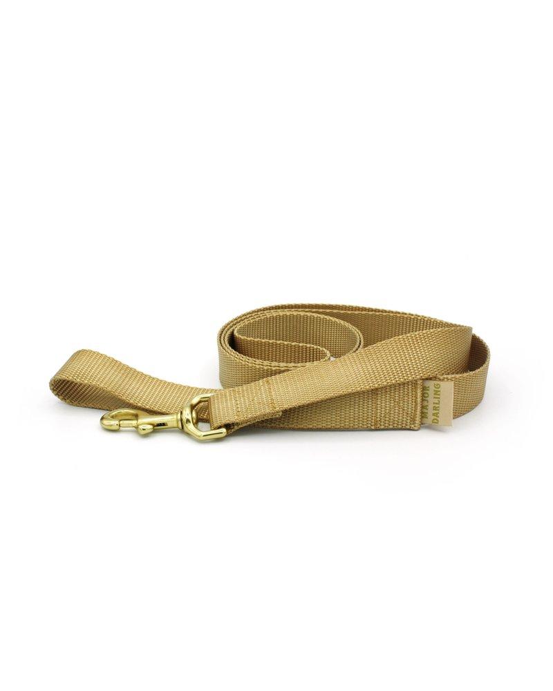 Major Darling Basic Leash, Gold