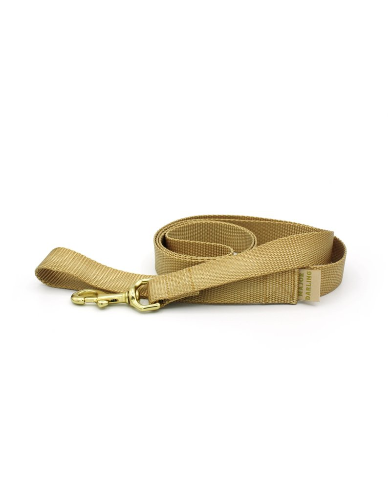 Major Darling Gold Leash
