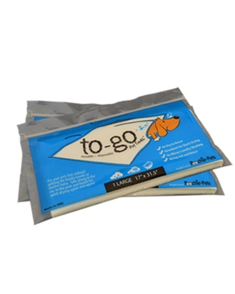 Poochie Pets To-Go Towel