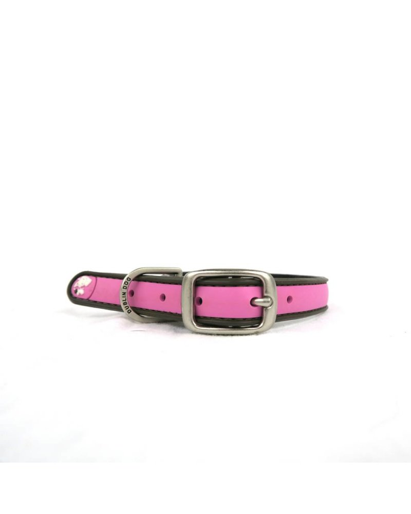 Dublin Dog Pink Waterproof Collar