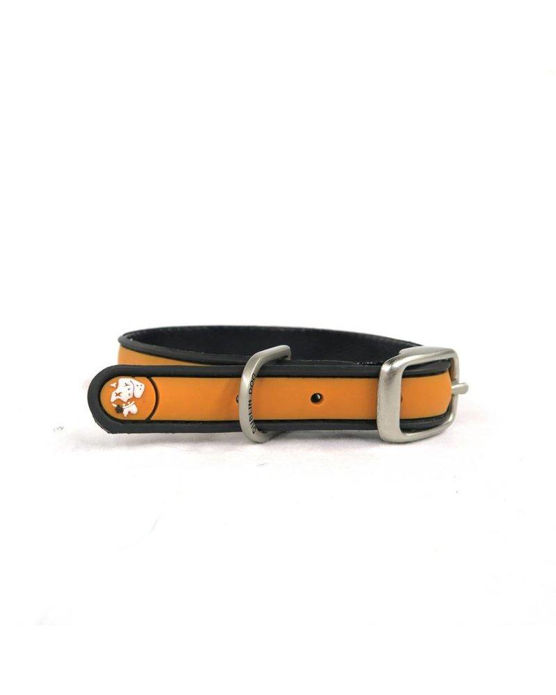 Dublin Dog Orange Waterproof Collar