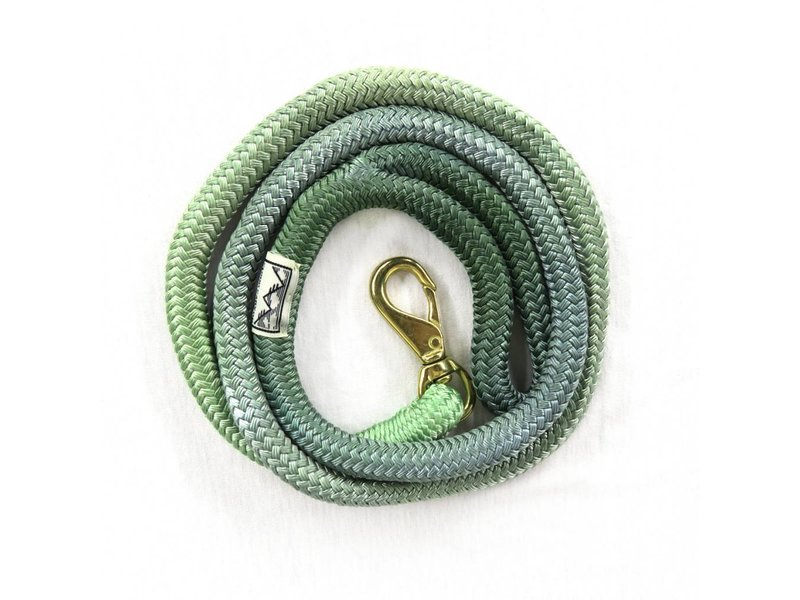 Cloud Canyon Green Ombré Lock Stitched Lead