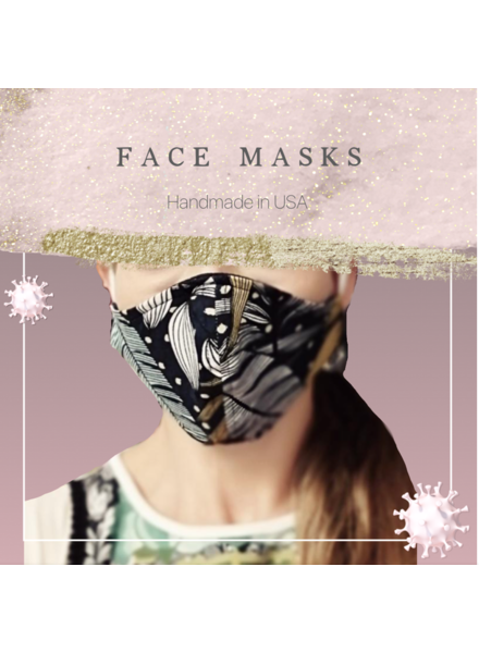 Reusable Patterned Face Mask