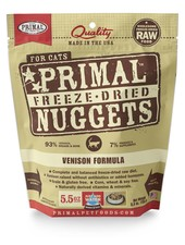 Primal Freeze-Dried Venison for cats