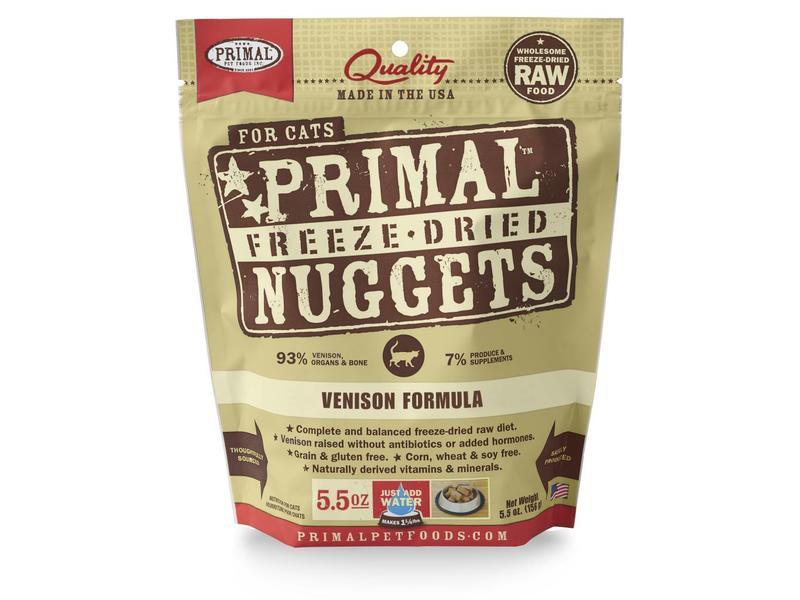 Primal Freeze-Dried Formula Venison for cats