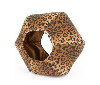 The Cat Ball Ball Bed, Leopard