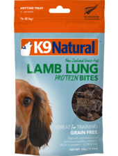 K9 Natural Lamb Lung Protein Bites