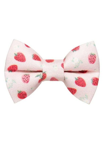 "Sweet Pickles Designs Bow-Tie, ""Shortcake"" Strawberry"