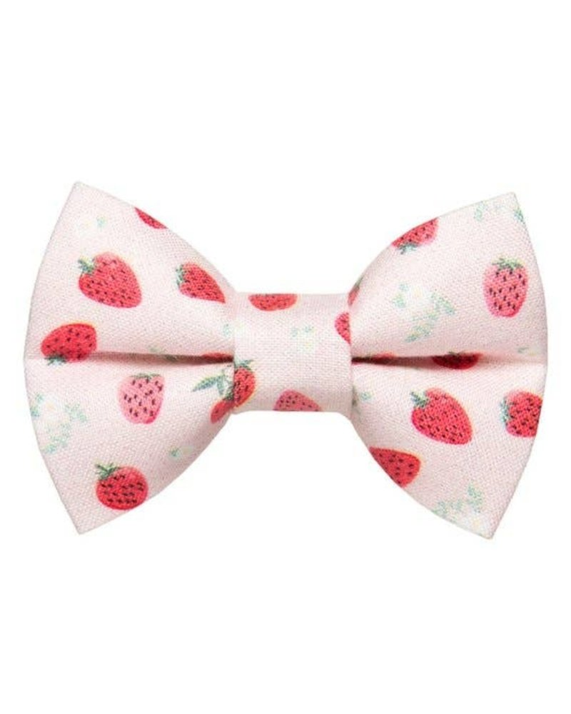 "Sweet Pickles Designs Bow-Tie, ""Shortcake"" Strawberry"