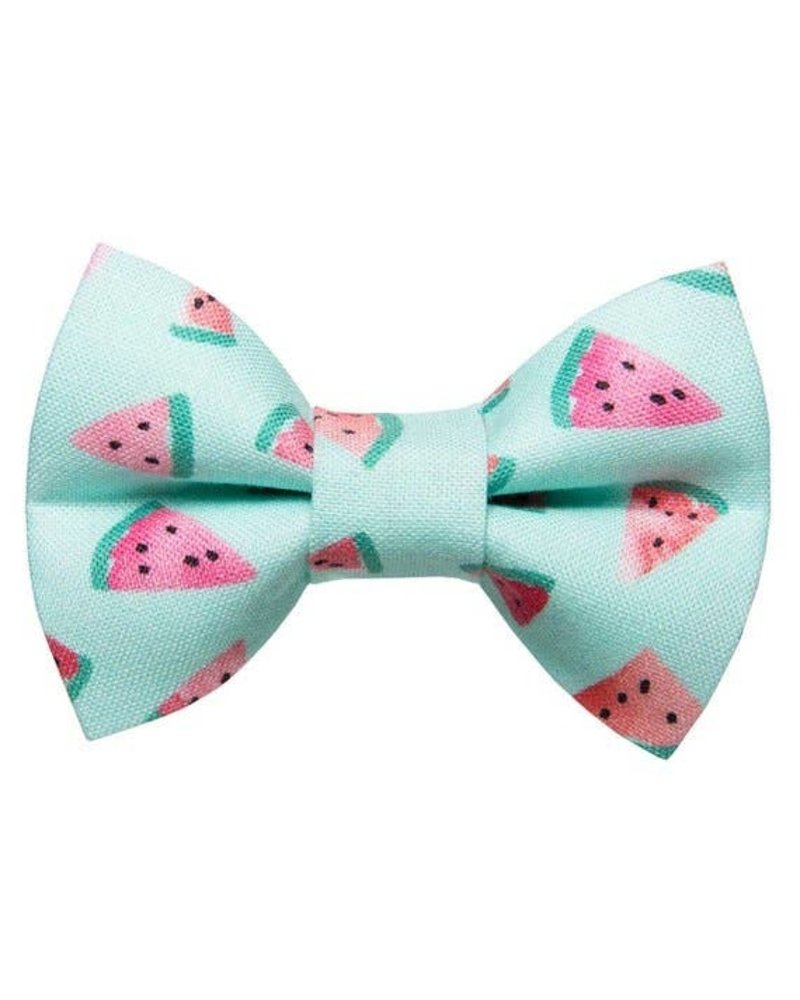 Sweet Pickles Designs Bow-Tie, One In a Melon (Watermelon)
