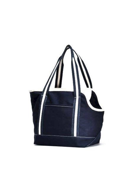 ShoreBags Pet Tote, Navy Blue
