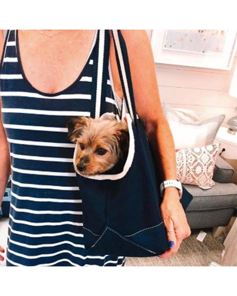 ShoreBags Pet Tote, Navy Blue