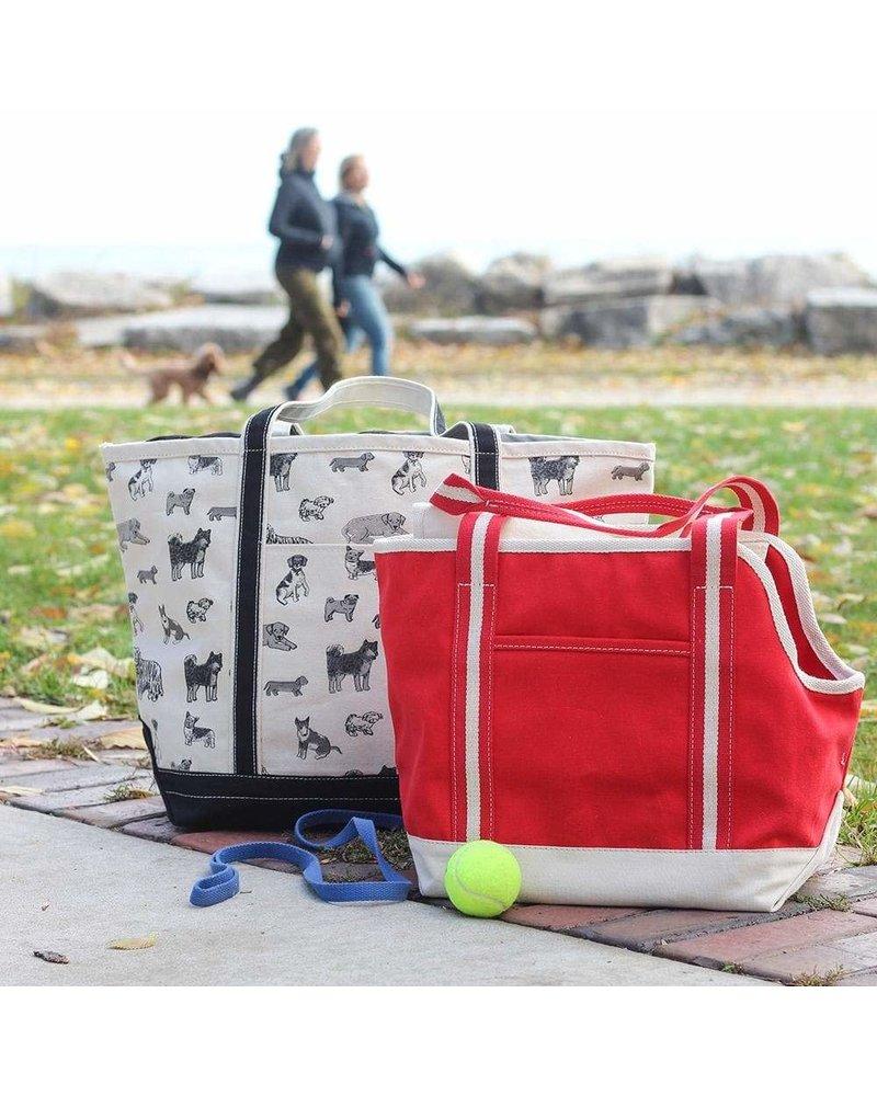 ShoreBags Pet Tote, Red
