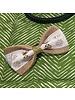 FEED Burlap Bow Tie, Pineapple