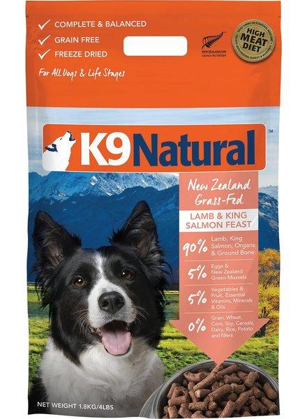 K9 Natural SALE Raw Lamb Salmon Feast 4 lb