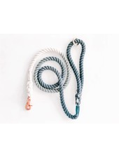 Woof + Wonder Co. Navy Ombre Rope Leash