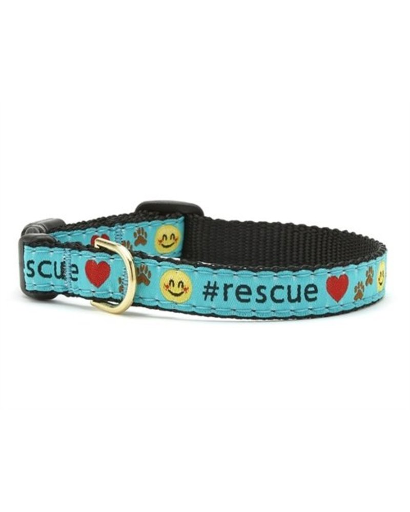 Up Country Cat Collar, #Rescue