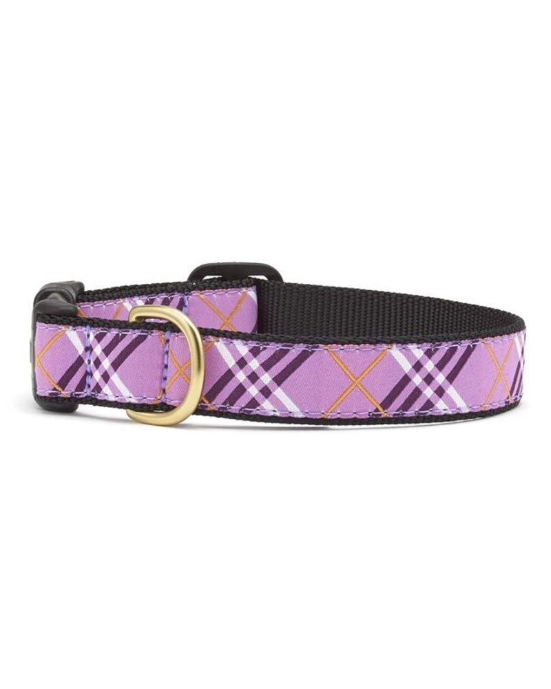 Up Country Cat Collar, Lavender Lattice