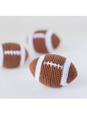 Hello Doggie Crochet Football Toy