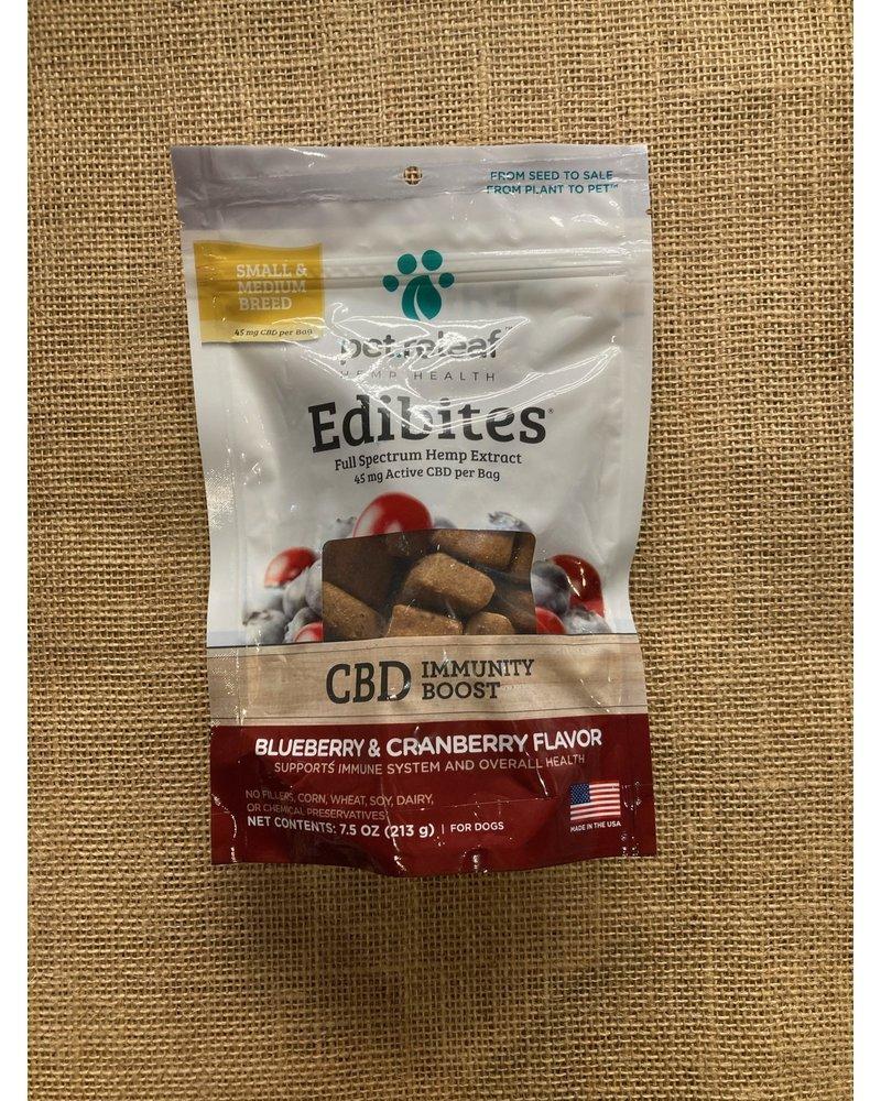Pet Releaf Edibites Immunity Blueberry & Cranberry