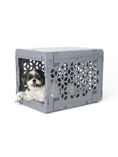 KindTail PAWD Collapsible Crate, Grey