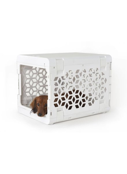 KindTail PAWD Collapsible Crate, White