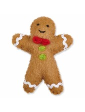 The Foggy Dog Gingerbread Man Holiday Cat Toy