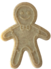 SodaPup Gingerbread Man Chew Toy