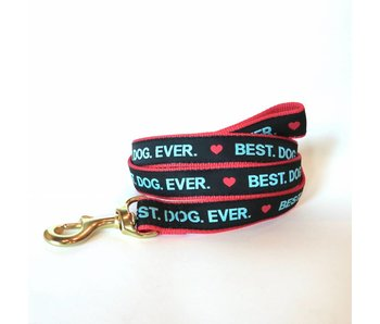 Up Country Dog Leash, Best Dog Ever
